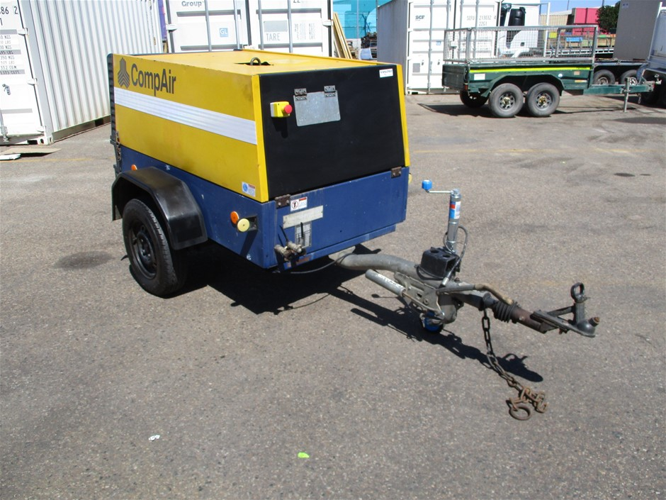2003 CompAir C50 176cfm - 5m³/min Trailer Mounted Compressor