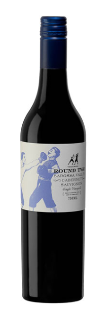 Round Two Single Vineyard Cabernet Sauvignon 2018 (12 x 750mL), Barossa.
