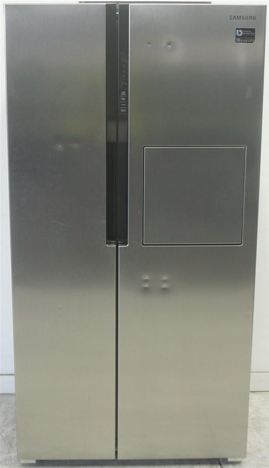 Samsung 603L Side By Side Fridge (Stainless Steel) (SRS603HLS)