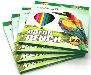 96 Premium Colour pencils, 4 sets of ass
