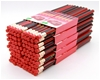 100 HB wood pencils with eraser top for writing, drawing & sketching