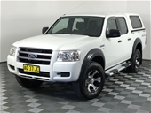 Unreserved 2007 Ford Ranger XL 4x4 Crew Cab PJ