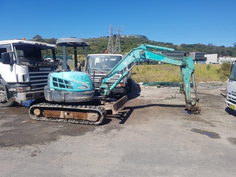 2008 Kobelco SK55-5 Excavator