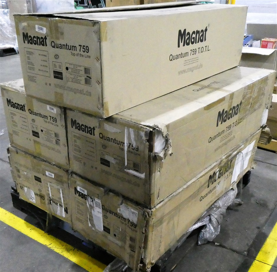 Assorted Pallets of Single Magnat Speakers