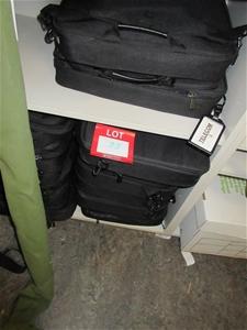 Black Material Laptop Bags