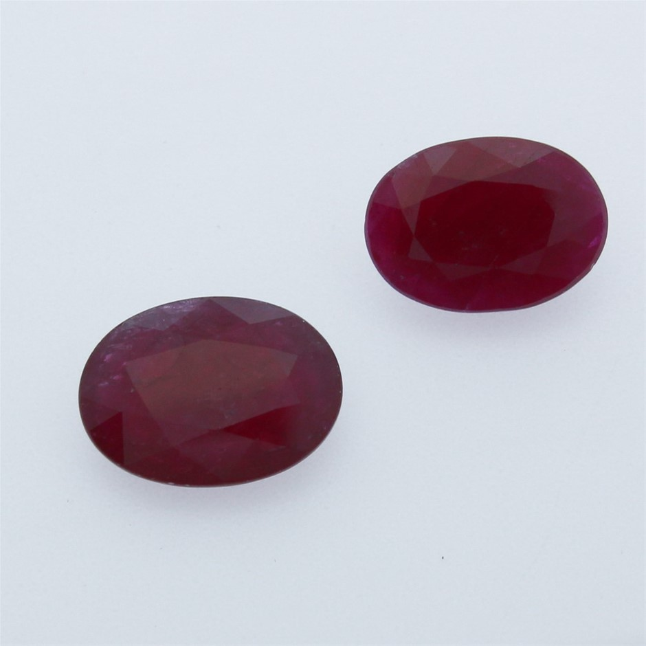 Two Loose Ruby 8.00ct in Total