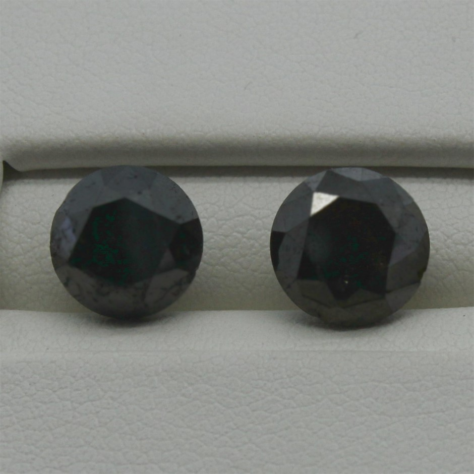 Two Loose Diamond, 4.55ct in Total