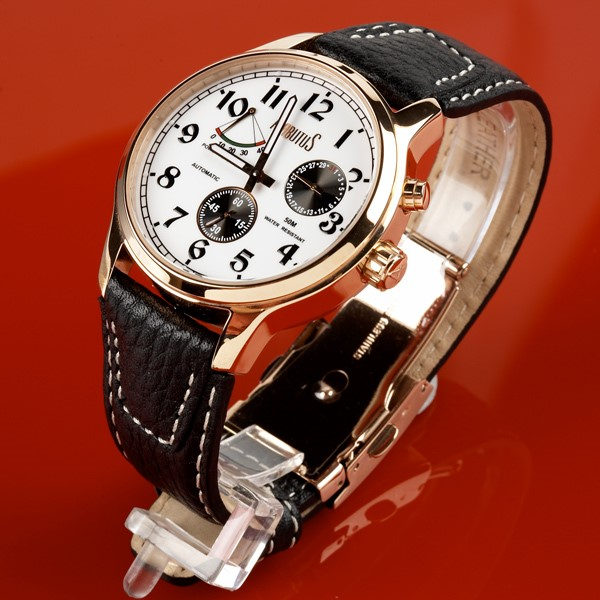 Arbutus New York Automatic watch 3 dial Power reserve