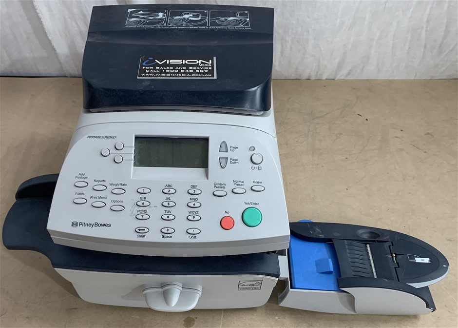 Pitney Bowes PR00 Mailing Machine, No Power Cord