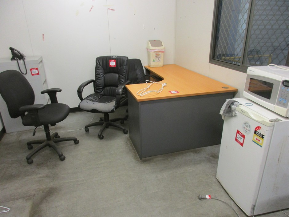 Assorted Office Furniture Comprising:
