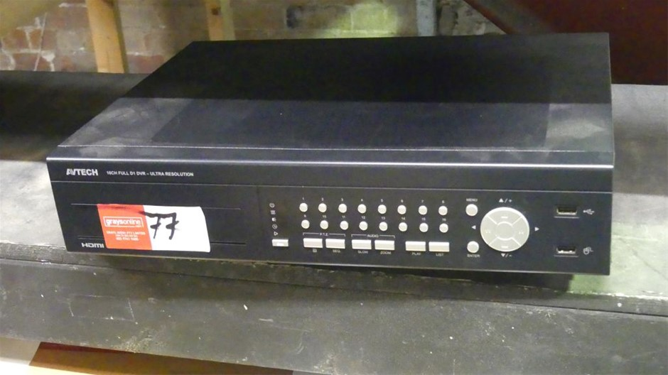 Avtech D1 16 Channel Security Digital Video Recorder