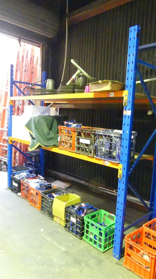 Dexion style Single Bay of Pallet Racking