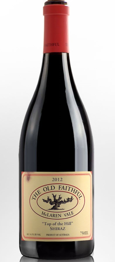 The Old Faithful Top Of The Hill Shiraz 2012 (6x 750mL)
