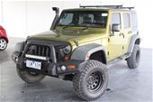 Unreserved 2007 Jeep Wrangler Unlimited Sport 4x4 T/Diesel