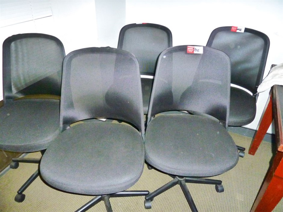 Qty 5 x Clerical Chairs