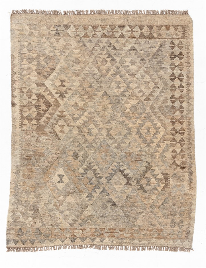 Hand Knotted Flat Weave Kilim Rug Size (cm): 148 x 186