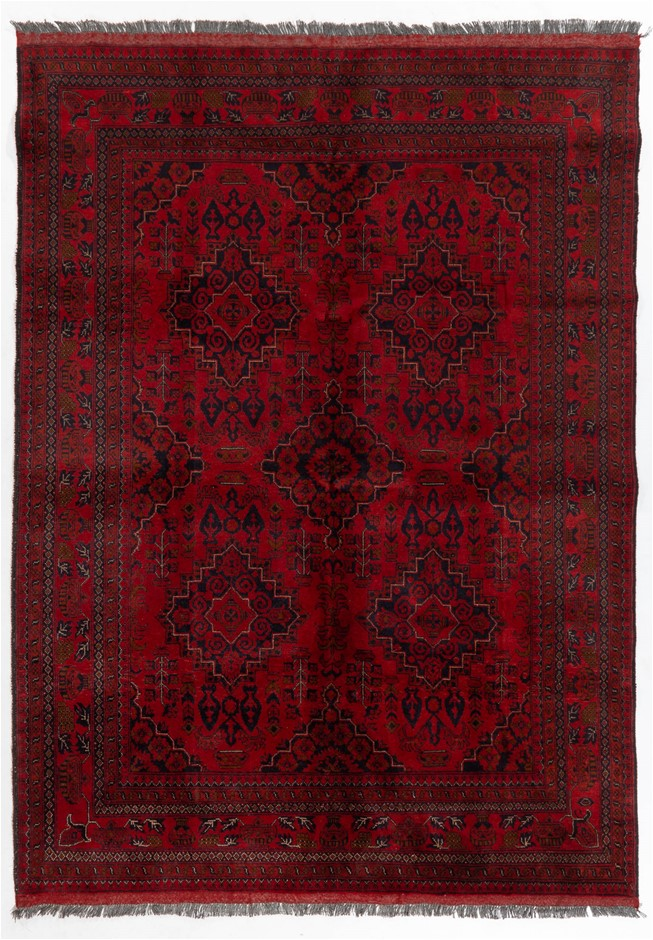 Afghan Khal Mohamadi 100%Wool Pile Size (cm): 175 x 230