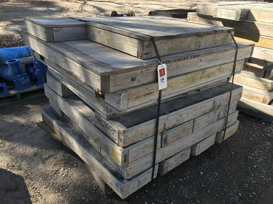 Pallet of Timber Concrete Formwork