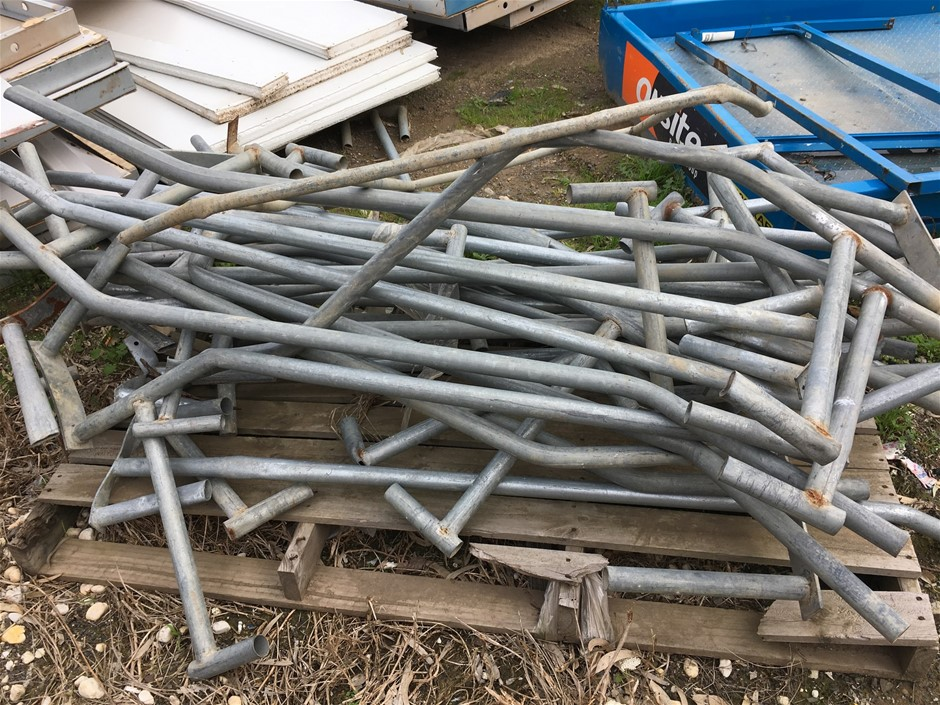 Pallet of Temporary Fencing Braces