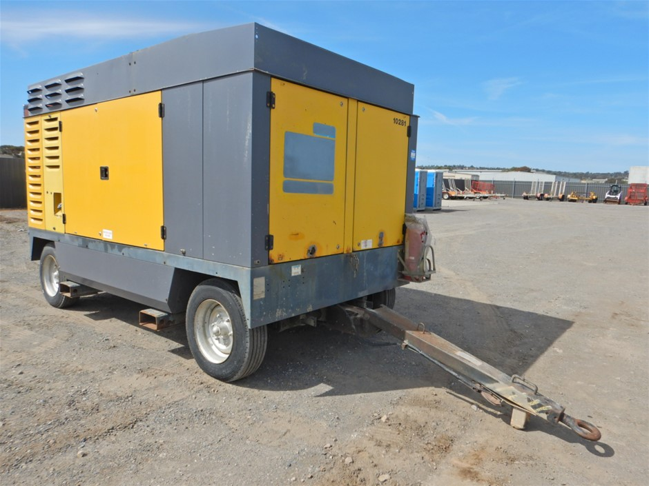 2012 Atlas Copco XRVS 1000 CD6 Mobile Air Compressor (Pooraka, SA)