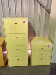 Filing Cabinet - Beach Colour Timber