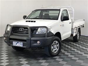 2012 Toyota Hilux Workmate (4x4) KUN26R