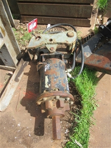 CAT A19 Hydraulic Auger Drive