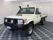 Unreserved 2011 Toyota Wmate 4x4 VDJ79R T/Dsl Man C/Chass