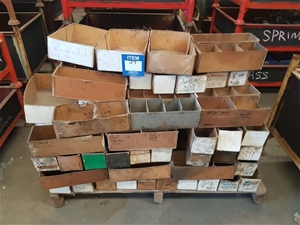 Cardboard Parts Boxes – Various Sizes (G