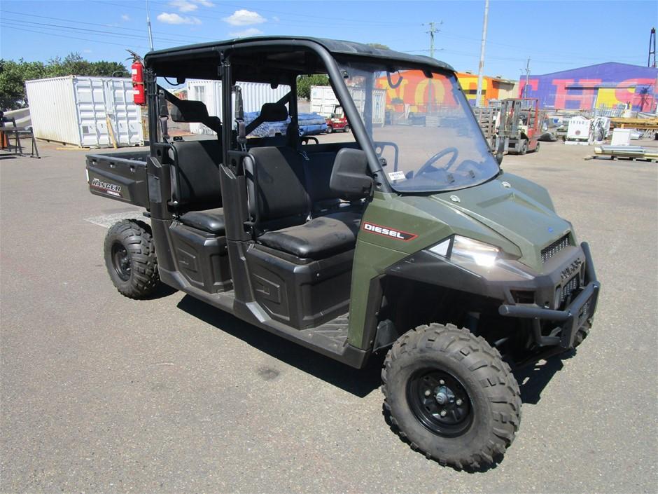 2016 Polaris Ranger Diesel Crew ATV