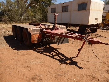 2007 Tristar Triaxle Dolly