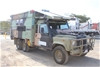 1990 110 Perentie Land Rover 6 x 6 Manual Truck Based Motorhome