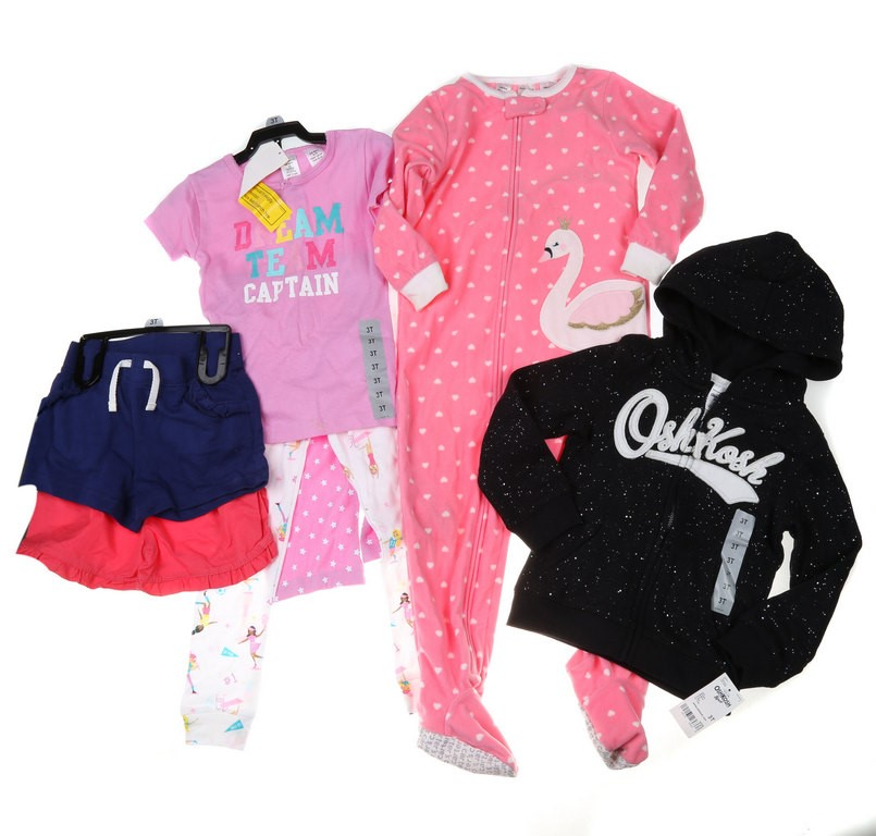 4 Sets x Assorted Girl`s Clothing Set, Size 3T, Incl; CARTER`S Dream Team 3