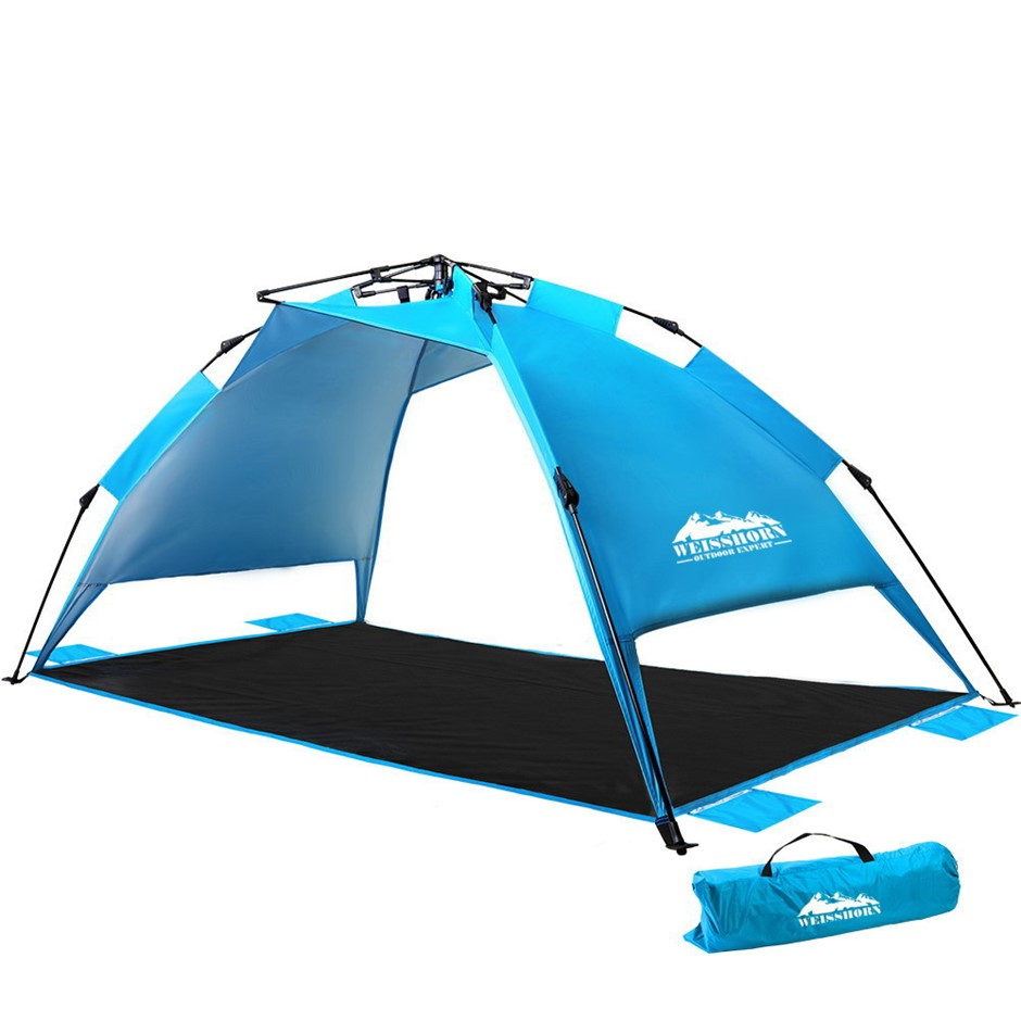 Weisshorn Pop Up Camping Tent Beach Portable Instant Up Hiking Sun Shelter