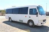 2012 (2013) Toyota Coaster T/Diesel Wheelchair Lift Bus