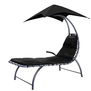 Gardeon Outdoor Sun Lounge Canopy Day Be