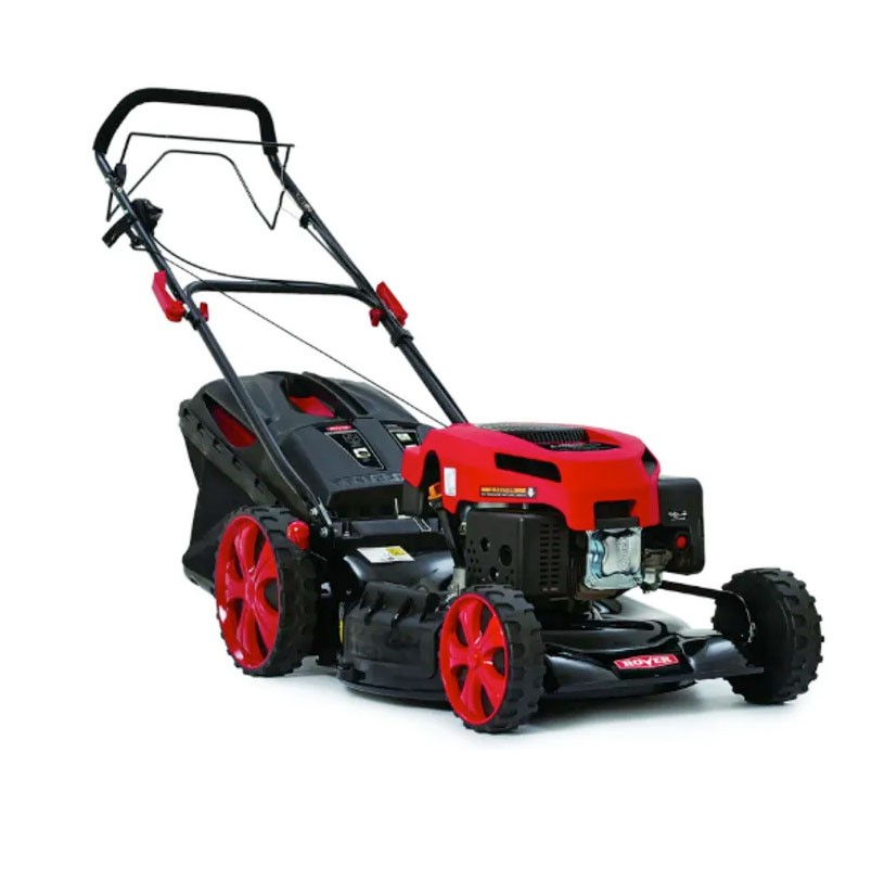 ROVER Endeavour Self Propelled Lawn Mower 21ins, Steel Deck, 4 x Swing Back