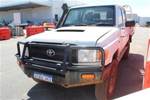 2014 Toyota Landcruiser Workmate (4x4) V