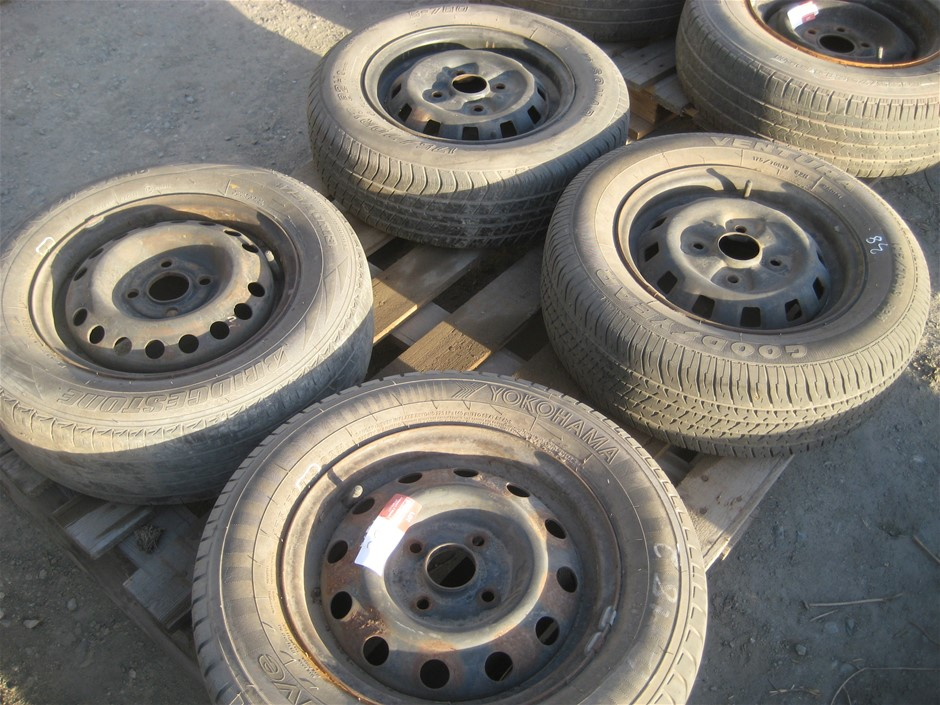 Tyres. 4 x Car Tyres