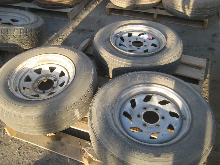 Tyres. 3 x Light Truck Tyres