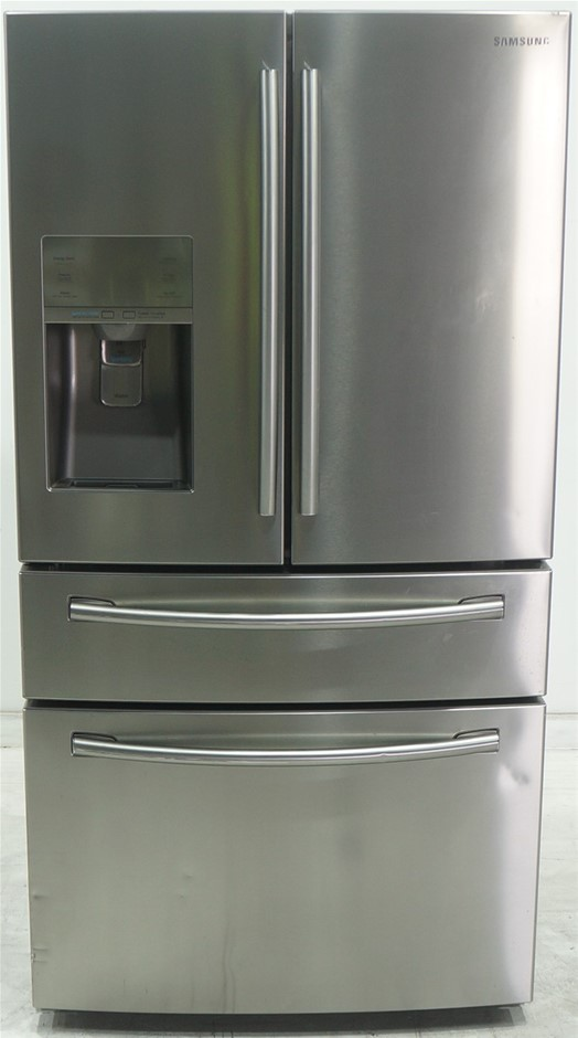 Samsung SRF890SWLS 890L 4 Door Fridge (Silver)
