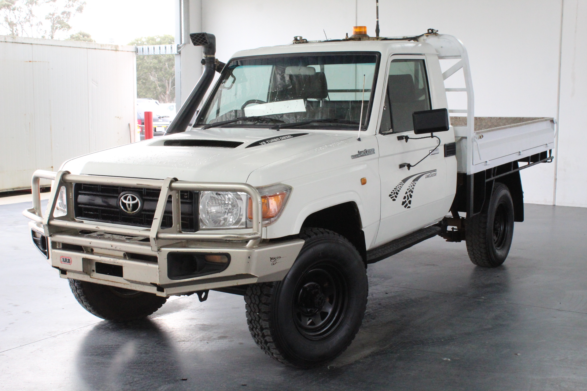 2008 Toyota Landcruiser Workmate 4x4 VDJ79R T/Diesel Man Cab Chassis
