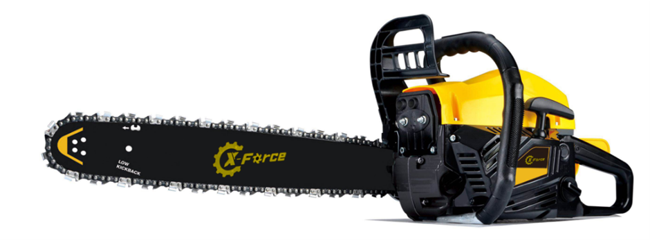 """58cc Commercial Petrol Chainsaw E-Start 22"""" Chain Saw"""
