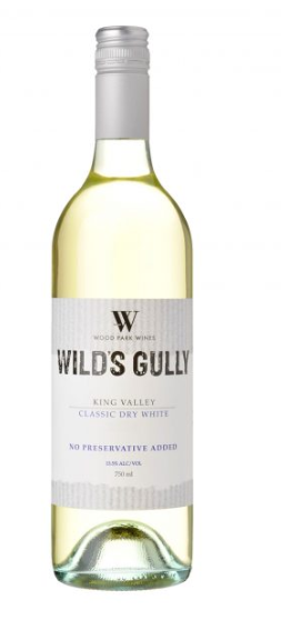 Wilds Gully Classic Dry White - Preservative Free 2018 (12 x 750mL), VIC.