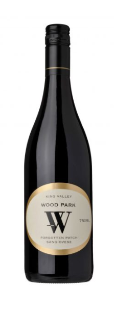 Wood Park Forgotten Patch Sangiovese 2018 (12 x 750mL), King Valley, VIC.