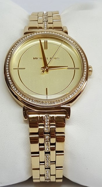 New classic & classy Michael Kors couture NY 'Cinthia' ladies luxury watch