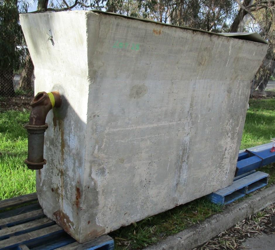 Large Concrete Tank