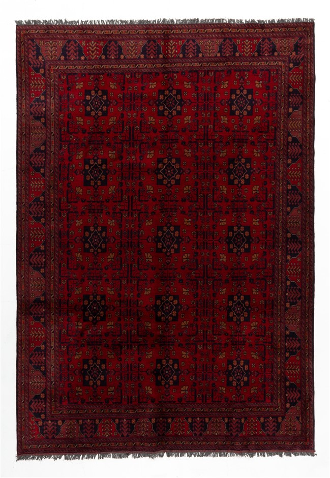 Afghan Khal Mohomadi Hand Knotted Rug Size (cm): 205 x 295