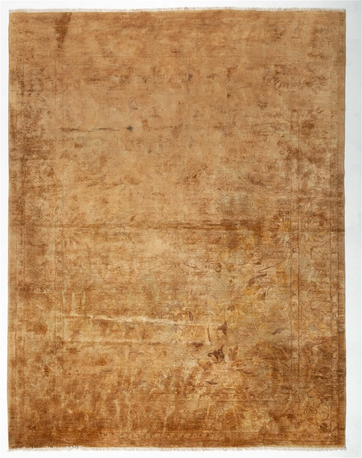 Afghan Choobi Hand Knotted Vegetable Dyed Rug Size (cm): 306 x 346