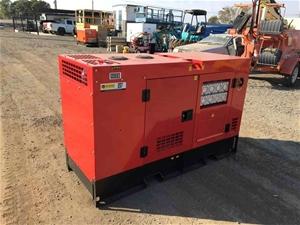 2019 Silent Diesel Generator: GE 150 900